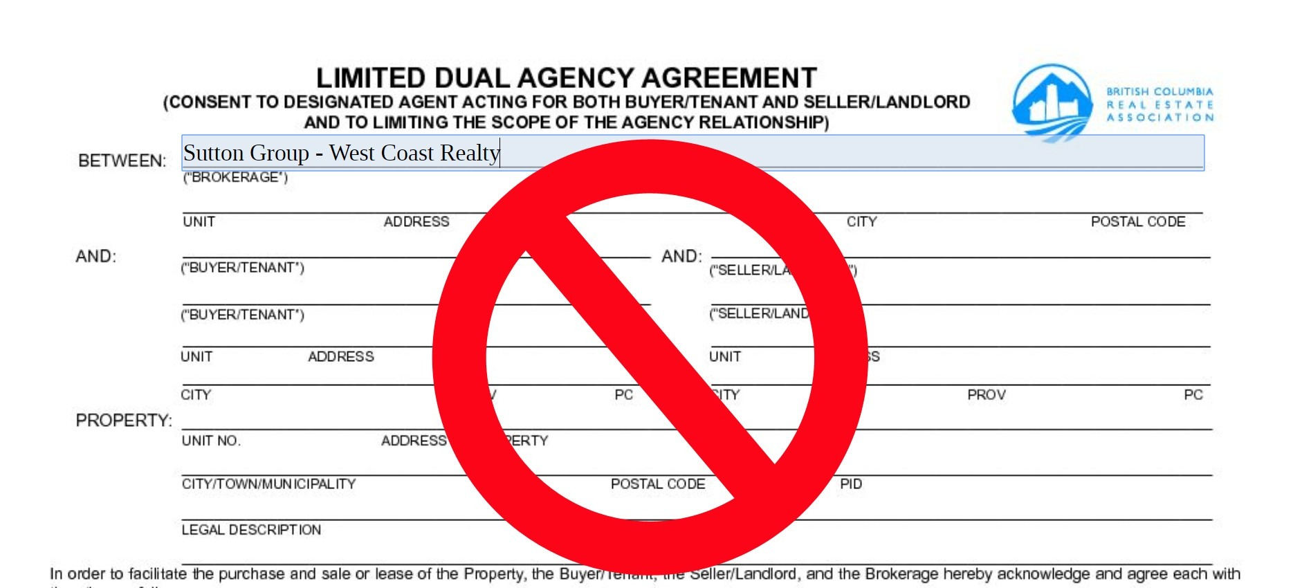 New rules regarding dual agency or double ending